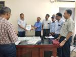 CWC Officials submit Sonai irrigation Project Report to Chief Engineer irrigation